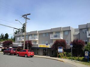 1 bd apartment – North-Central Nanaimo - In-suite laundry!