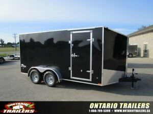 "ONTARIO TRAILERS TANDEM AXLE 7' X 14'+30"" V-NOSE TITAN"