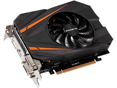 GIGABYTE GeForce GTX 1070 Mini ITX OC GV-N1070IXOC-8GD Video Card