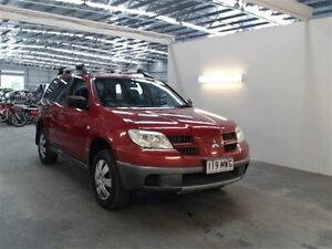 2004 Mitsubishi Outlander ZF LS Red 4 Speed Auto Sports Mode Wagon Beresfield Newcastle Area Preview
