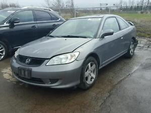 parting out 2005 Honda civic ex