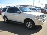 2009 Ford Explorer Limited, Navi, Certified, Low kms