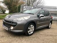 PEUGEOT 207 1.6 HDi 90 Outdoor (grey) 2008