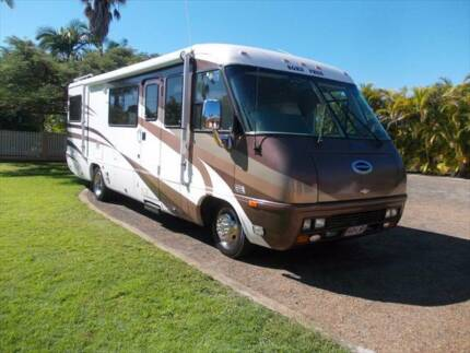 "The "" BORN FREE "" LIGHTWEIGHT ECONOMY DUEL FUEL MOTORHOME Meadowvale Bundaberg Surrounds Preview"