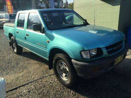 2000 Holden Rodeo TFR9 LX (4x4) Blue 5 Speed Manual 4x4 Crewcab Jewells Lake Macquarie Area Preview