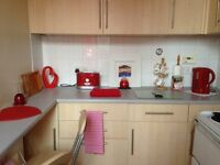 FULLY FURNISHED GOUND FLOOR 1 BEDROOMED FLAT FOR RENT CENTRAL FORFAR £350 PCM