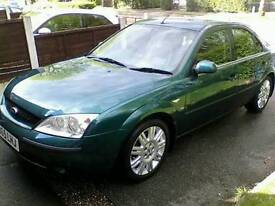 Mondeo ghia x 2.5 v6 sell or swap