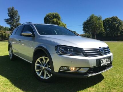2012 Volkswagen Passat Type 3C MY13 Alltrack DSG 4MOTION Silver 6 Speed Sports Automatic Dual Clutch Somerton Park Holdfast Bay Preview