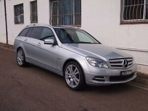 2010 Mercedes-Benz C250 CGI W204 MY10 Avantgarde Silver 5 Speed Automatic Wagon Petersham Marrickville Area Preview