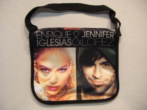 New Enrique Iglesis Jennifer Lopez 2012 Tour Messenger Bag With VIP Ticket S21