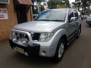 2007 Nissan Pathfinder R51 TI (4x4) Silver 5 Speed Automatic Wagon Campbelltown Campbelltown Area Preview