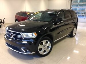2015 Dodge Durango Limited 4X4, DVD, 7 PASSAGES, CAM, TOIT OUVRA