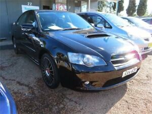 2004 Subaru Liberty B4 MY04 Luxury AWD Black 4 Speed Sports Automatic Sedan Minchinbury Blacktown Area Preview
