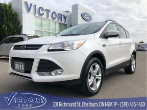 2015 Ford Escape Se, AWD, Heated Seats, Backup Cam, only 31610km