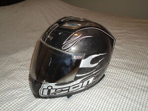 "Two ""Full Face"" Motorcycle Helmets- Excellent Condition"