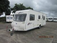 2007 BAILEY PAGEANT PROVINCE 5 BERTH CARAVAN WITH FULL AWNING ANDERSON CARAVAN SALES