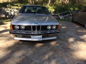 1980 BMW 635CSi Euro with many Alpina features