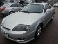 HYUNDAI COUPE 1.6S 2006 REG LOW MILES 80K PART LEATHER