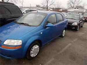 2006 Chevrolet Aveo LS GREAT CAR AS-TRADED DEAL AS-IS
