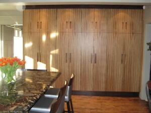 NEW AND USED CABINETS & DOORS / FINISHING & REFINISHING