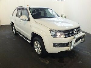 2015 Volkswagen Amarok 2H MY15 TDI420 Highline (4x4) White 8 Speed Automatic Dual Cab Utility Clemton Park Canterbury Area Preview