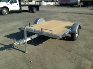NEW 5x8 Sure-Trac Galvanized Tilt Bed Utility Trailer