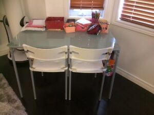 Ikea table and two chairs