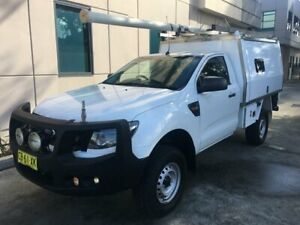 Ford Ranger 4x4 Diesel 3.2 ex-Telstra XL service body Late-2014 Seven Hills Blacktown Area Preview