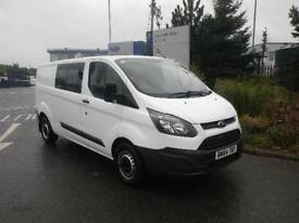 Ford Transit Custom 2.2TDCi ( 100PS ) Double Cab-in-Van 2013.5MY 290 L2H1