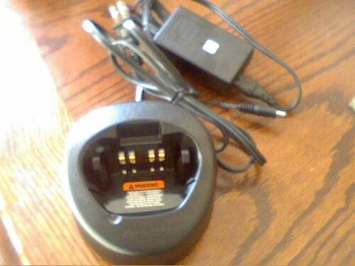 MOTOROLA NTN1667A single charger and power supply kit for the XTS3000 XTS5000