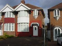 3 BED SEMI-DETACHED HOUSE IN PERRY BARR EASY ACCESS TO CITY CENTRE LOCAL AMENITIES, ONLY £650 PCM