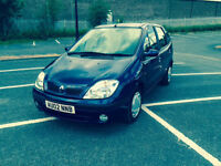 Renault Scenic 1.6 16v 2002MY Expression PETROL 5 DOOR **REDUCED**