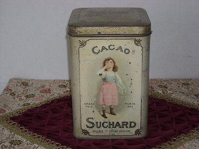 Alte Cacao Suchard Blechdose Sehr Selten!!!