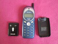 Philips Savy Gsm Telefonno Vintage Funzionante Ottimo Stato Con Batteria - philips - ebay.it