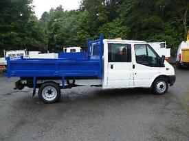 2012 Ford Transit 2.2TDCi ( 100PS ) Double cab Tipper 2012