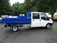 2012 Ford Transit 2.2TDCi ( 100PS ) crew cab Double cab Tipper 2012
