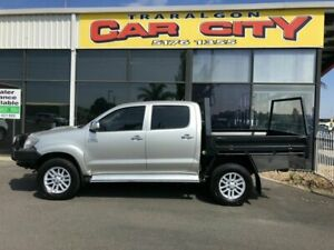 2012 Toyota Hilux KUN26R MY12 SR5 (4x4) Silver 4 Speed Automatic Dual Cab Pick-up Traralgon Latrobe Valley Preview