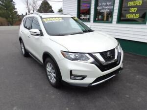 2018 Nissan Rogue SV AWD for only $215 bi-weekly all in!