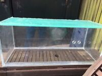 """Smaller 30"""" Acrylic fish tank for sale"""