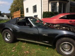 First year L82 Corvette, 350 turbo 400, T Roof