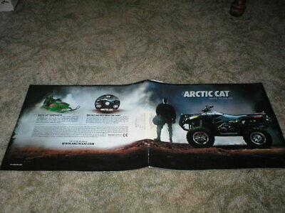 "2006 ARCTIC CAT ATV Quad Brochure Colorful 50 pages 50 - 650cc 10"" x 12"""