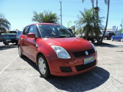 2007 Suzuki Swift Red Manual Hatchback Morayfield Caboolture Area Preview
