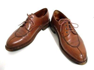 Auth J.M. WESTON Brown Leather Shoes Men