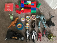Bundle Boys Toys (BatMan, Batman motorbike, Cars Clock, PowerRangers etc)