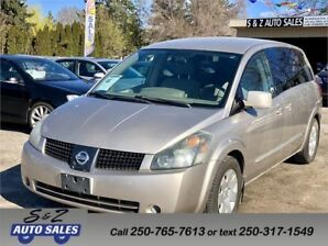 2005 Nissan Quest ONLY 98000 km!