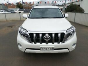 2016 Toyota Landcruiser Prado GDJ150R VX Crystal Pearl 6 Speed Sports Automatic Wagon Young Young Area Preview