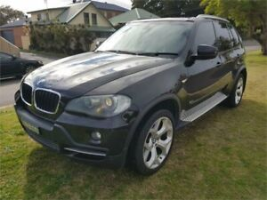 2008 BMW X5 E70 3.0D Black 6 Speed Auto Steptronic Wagon Broadmeadow Newcastle Area Preview