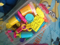 Tons of Play doh & Accessories