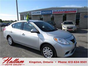 2014 Nissan Versa SV, Bluetooth, Cruise Control, Low kms Kingston Kingston Area image 1