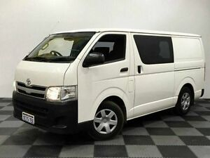 2013 Toyota Hiace TRH201R MY12 LWB White 4 Speed Automatic Van Edgewater Joondalup Area Preview